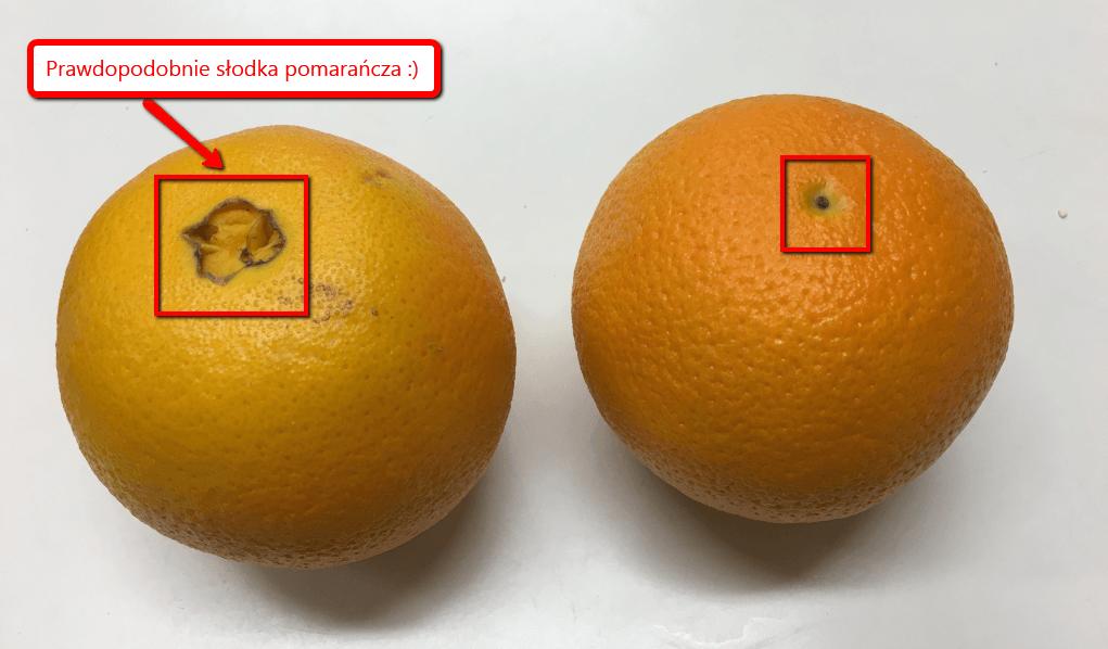 Jak wybrać słodką pomarańczę?