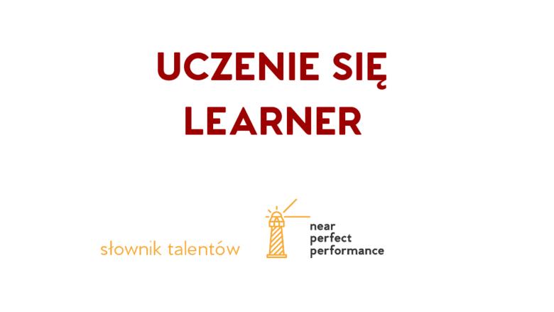 Słownik talentów - uczenie się