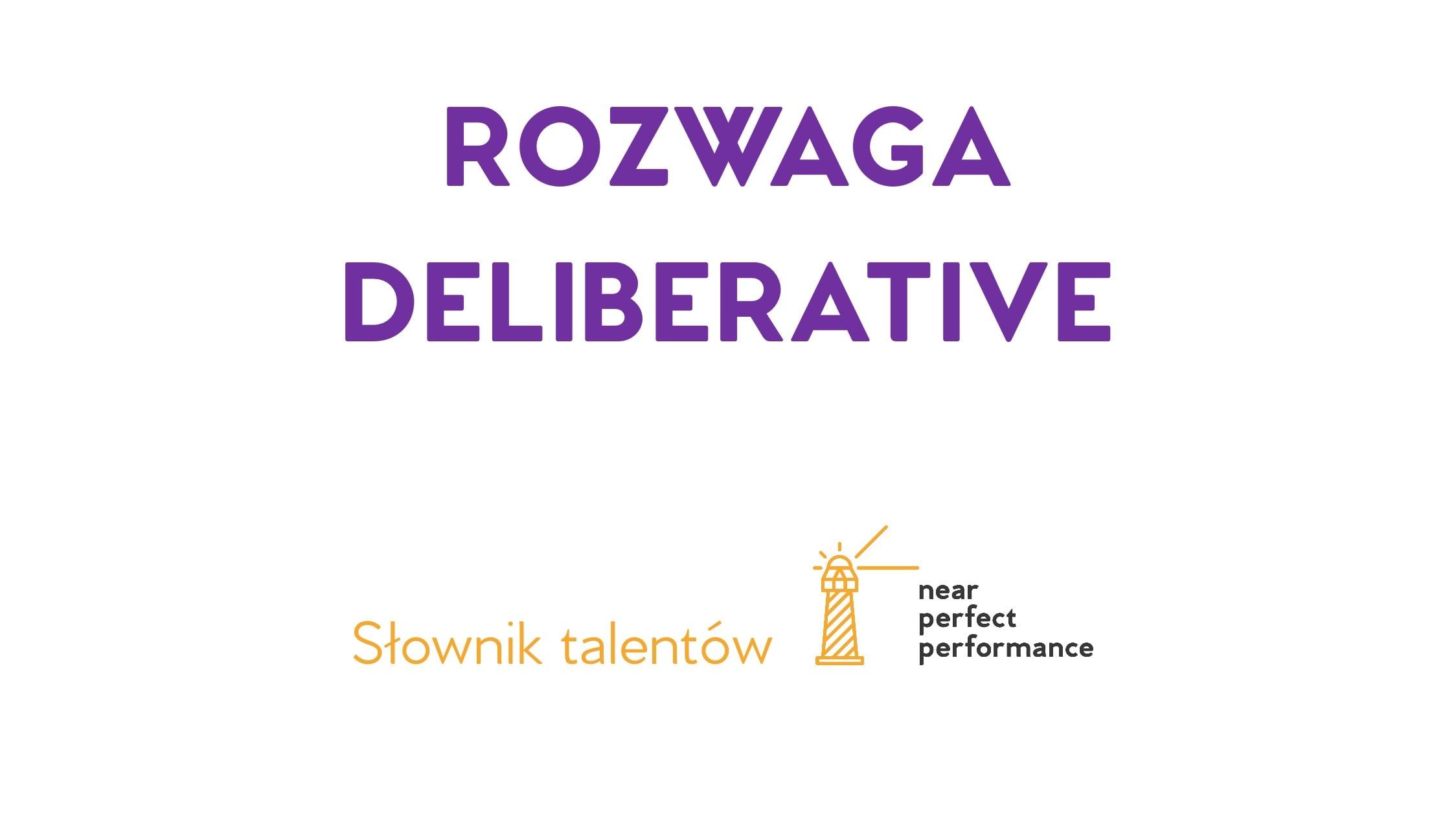 Rozwaga - Słownik talentów