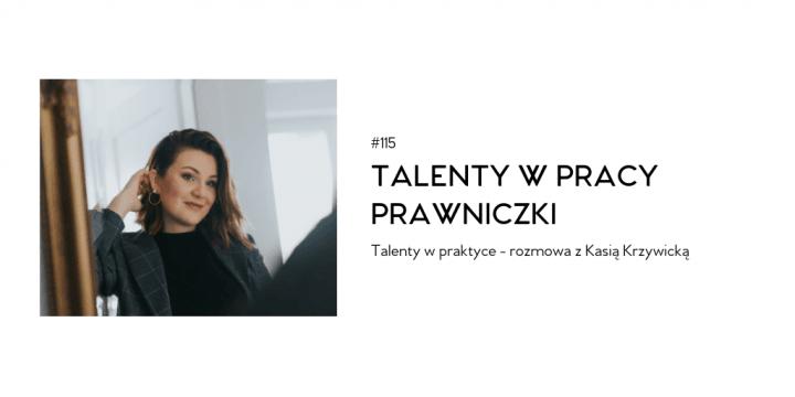 Talenty w pracy prawniczki